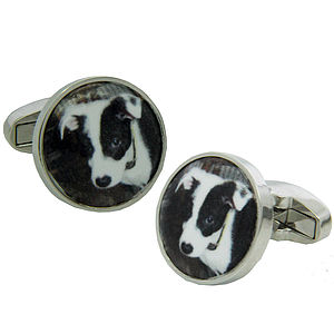 Personalised Photograph Cufflinks - cufflinks