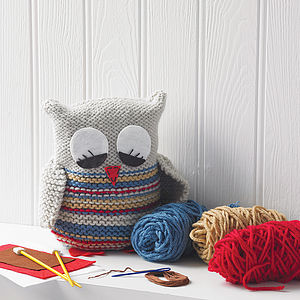 Knit Your Own Owl - activities for toddlers
