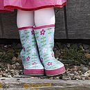 Flower Wellyboots