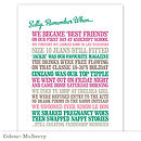 Personalised 'Remember When' Print