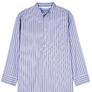 Men's Nightshirt- Red and Blue Stirpe