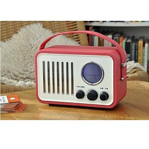 Portable Vintage Inspired Radio