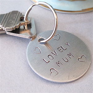 'Lovely Mum' Key Ring