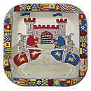 Knights And Dragons Paper Party Plates