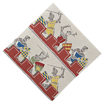 Knights And Dragons Napkins