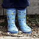 Digger Patterned Wellyboots