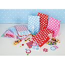dots and spots party bags