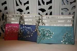 Asari Silk Cosmetic Purse - bags, purses & wallets