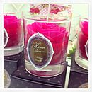 Handmade Scented Rose Candle