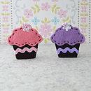 Cupcake Brooch Sewing Kit
