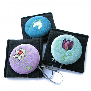Spring Flower Handbag Mirror Compact - beauty accessories