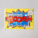 Packaged Boom Cracker Card