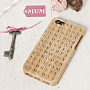 Thumb personalised world s best mum iphone cover