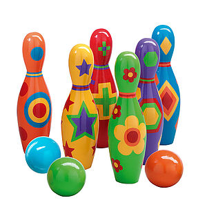 Shape Skittles - outdoor toys & games
