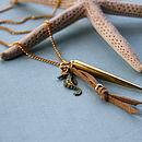 Sunset Palm Necklace