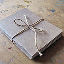 Set Of Three Pocket Eco Sketchbooks