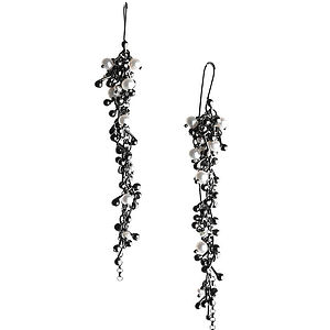 Blossom Silver Drop Earrings