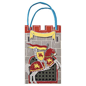 Pack Of Knights And Dragons Party Bags