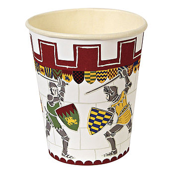 Knights And Dragons Party Cups