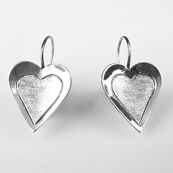 Deseos Sterling Silver Earrings