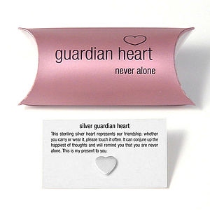 Guardian Heart Pillow Pack - flower girl jewellery