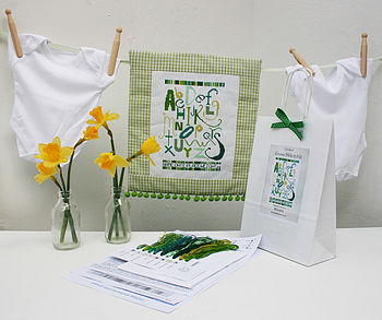 Baby 'Abc' Cross Stitch Kit