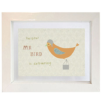 Flying Bird Print