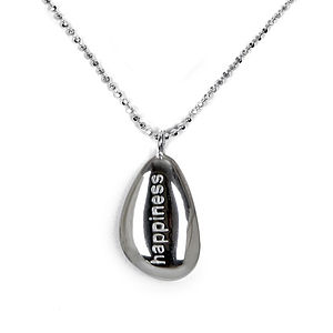 'Happiness' Pebble Necklace