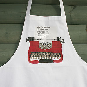 apron personalised