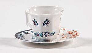 East Meets West Fusion Coffee Cup - cups & saucers