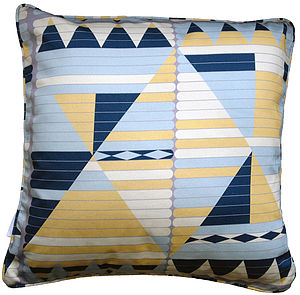 Geometric Cushion - cushions