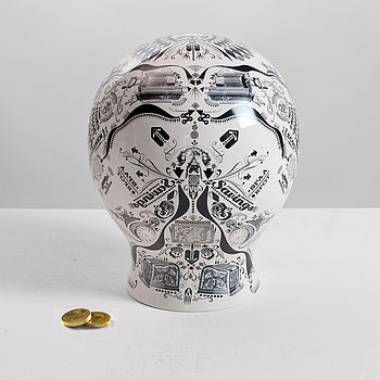 Screen Printed Porcelain Money Box