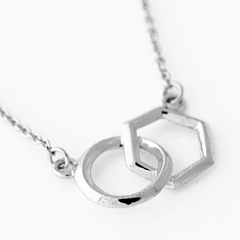 Silver Life Cycle Necklace