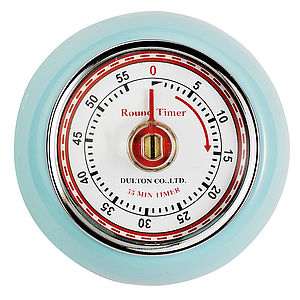 Retro Magnetic Timer - kitchen