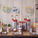 Knights And Dragons Paper Garland