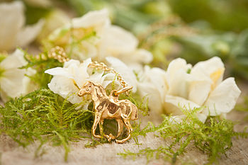 Gold Foal Necklace