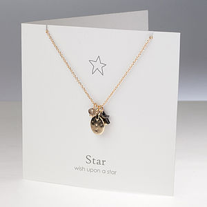'Wish Upon A Star' Charm Necklace
