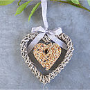 Willow Heart Bird Feeder