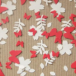 Flora And Fauna Recycled Paper Confetti - easter home