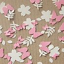 Flora And Fauna Recycled Paper Confetti