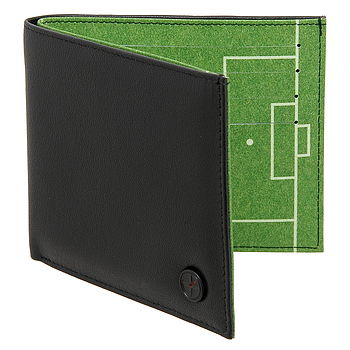 Football Pitch Leather Wallet