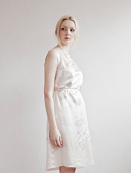 Swan Shift Dress