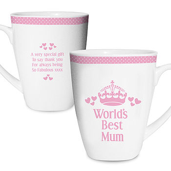 'World's Best' Mother's Day Mug
