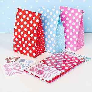 Party Bags Pack Of 12 - baby shower gifts