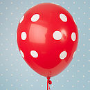 Red Spotty Balloon