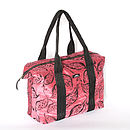 Pink Velvet Weekend Bag