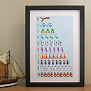 Counting Animal Numbers Print