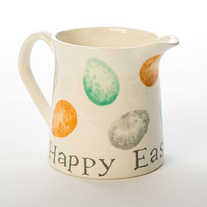 Personalised Easter Egg Jug, Hand Painted - easter home