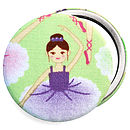 Girls Ballerina Compact Mirror