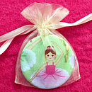 'Ballerina' Girls Birthday Gift Pocket Mirror